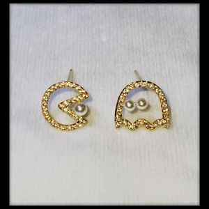 Jewelry - 👻NEW👻Pac Man and Ghost Earrings